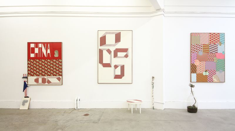 """barry_mcgee_View of the exhibition """"China Boo"""" at Ratio 3  SAN FRANCISCO (USA)_17114"""