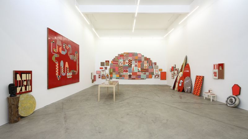 """barry_mcgee_View of the exhibition """"China Boo"""" at Ratio 3  SAN FRANCISCO (USA)_17116"""