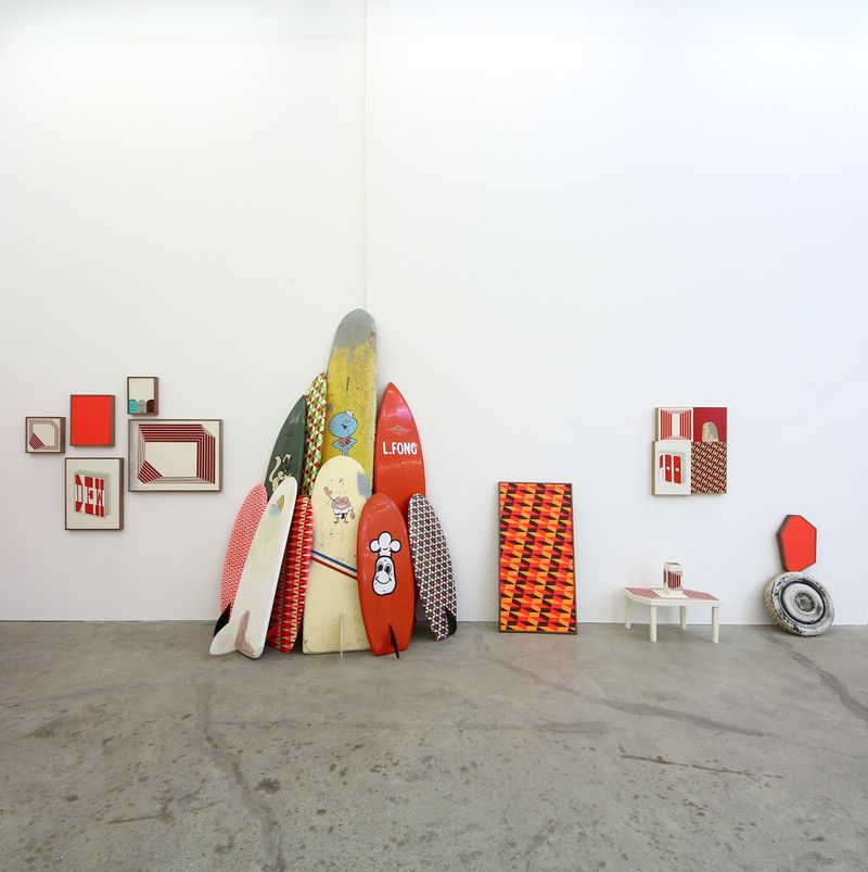 """barry_mcgee_View of the exhibition """"China Boo"""" at Ratio 3  SAN FRANCISCO (USA)_17117"""