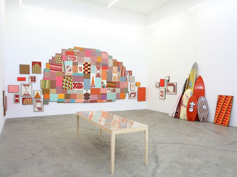 """barry_mcgee_View of the exhibition """"China Boo"""" at Ratio 3  SAN FRANCISCO (USA)_17121"""