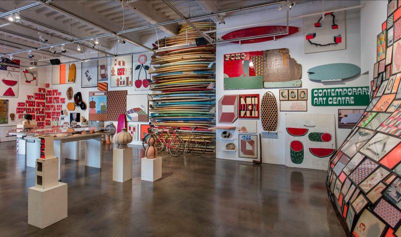 "barry_mcgee_View of the exhibition ""Barry McGee: SB Mid Summer Intensive"" at Museum of Contemporary Art Santa Barbara  SANTA BARBARA (USA)_17128"