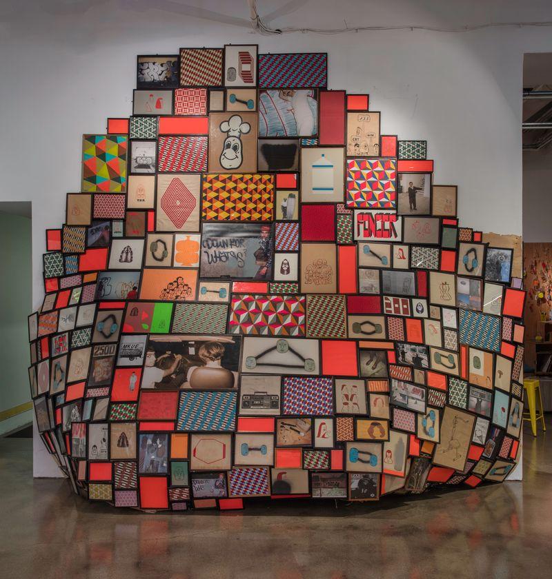 "barry_mcgee_View of the exhibition ""Barry McGee: SB Mid Summer Intensive"" at Museum of Contemporary Art Santa Barbara  SANTA BARBARA (USA)_17129"