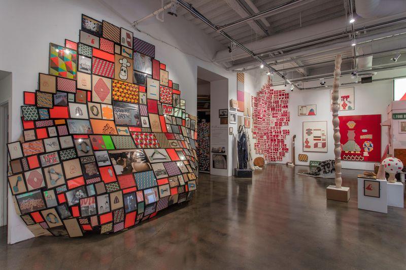 "barry_mcgee_View of the exhibition ""Barry McGee: SB Mid Summer Intensive"" at Museum of Contemporary Art Santa Barbara  SANTA BARBARA (USA)_17130"