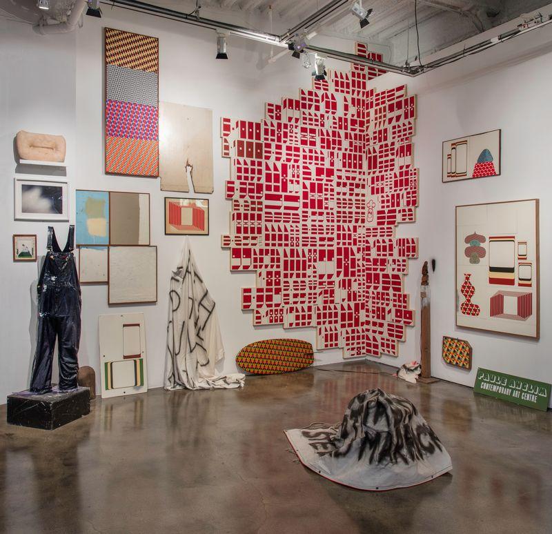"barry_mcgee_View of the exhibition ""Barry McGee: SB Mid Summer Intensive"" at Museum of Contemporary Art Santa Barbara  SANTA BARBARA (USA)_17131"
