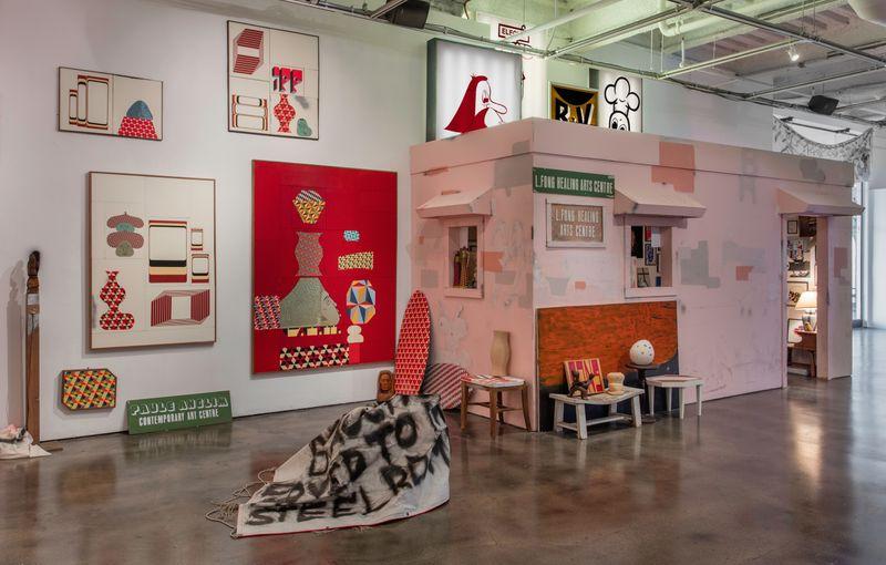 "barry_mcgee_View of the exhibition ""Barry McGee: SB Mid Summer Intensive"" at Museum of Contemporary Art Santa Barbara  SANTA BARBARA (USA)_17132"