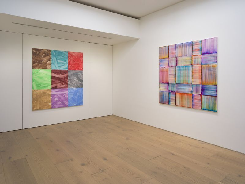 Bernard_Frize_View of the exhibition  at Perrotin, Tokyo (Japan), 2019_17197