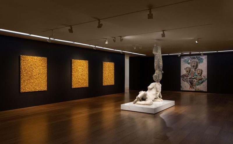 """View of XU ZHEN®'s solo exhibition """"The Glorious"""" at Perrotin Hong Kong, 2019"""