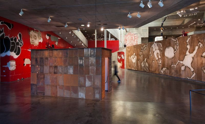 barry_mcgee_View of the exhibition  at The Berkeley Art Museum and Pacific Film Archive  BERKELEY (USA)_19965