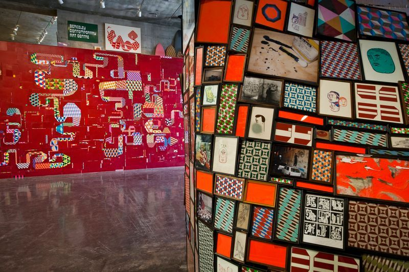 barry_mcgee_View of the exhibition  at The Berkeley Art Museum and Pacific Film Archive  BERKELEY (USA)_19967