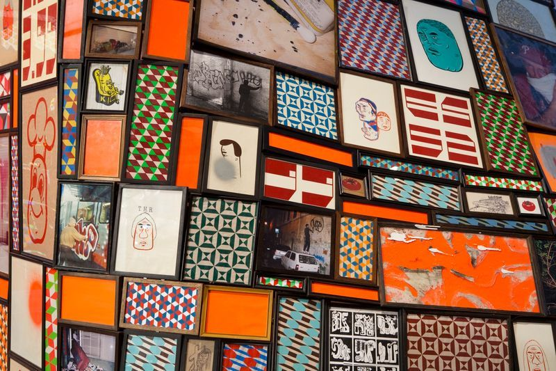 barry_mcgee_View of the exhibition  at The Berkeley Art Museum and Pacific Film Archive  BERKELEY (USA)_19970