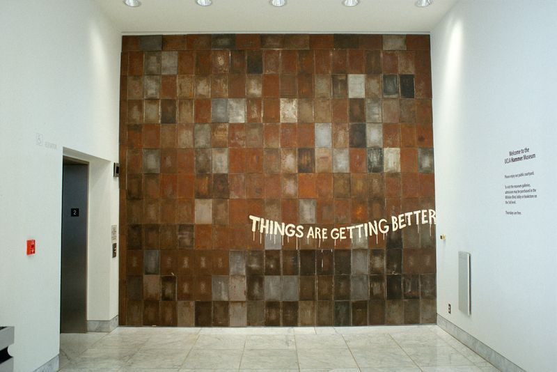 """barry_mcgee_View of the exhibition """"Hammer Projects"""" at The Hammer Museum  Los Angeles (USA)_19972"""