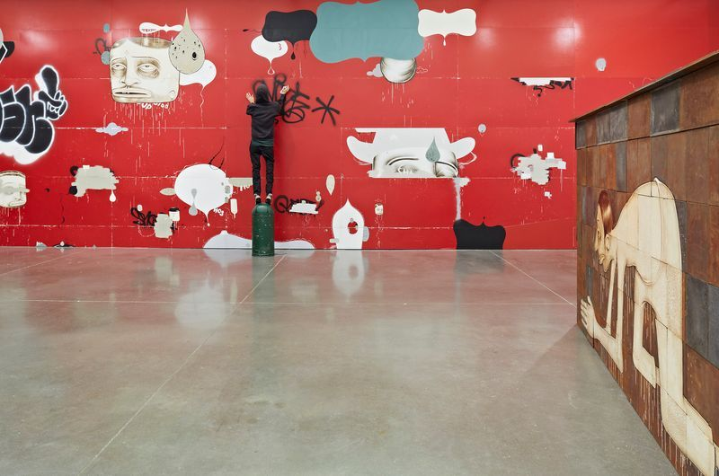 barry_mcgee_View of the exhibition  at Institute of Contemporary Art  Boston (USA)_19976