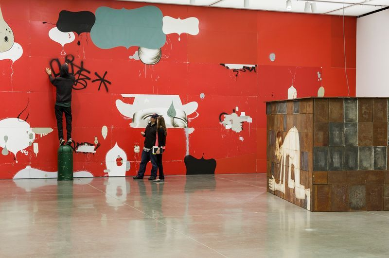 barry_mcgee_View of the exhibition  at Institute of Contemporary Art  Boston (USA)_19978