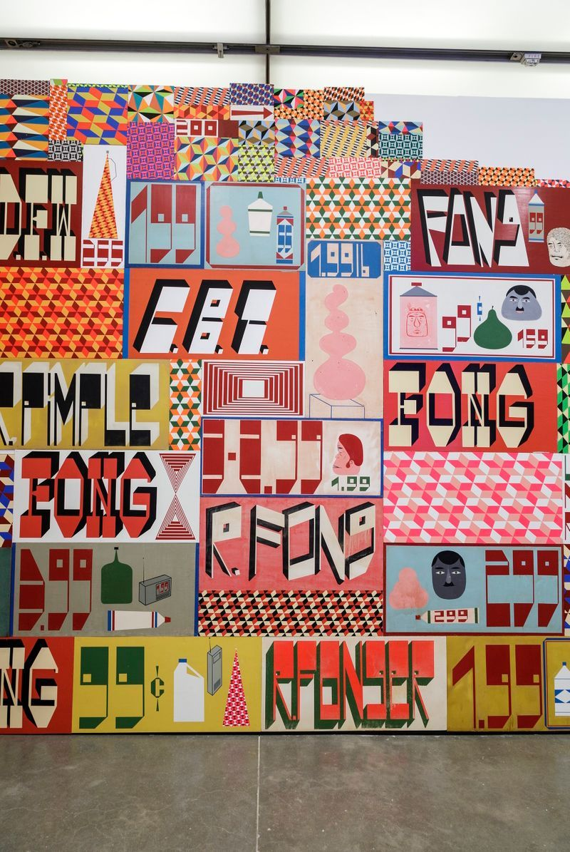 barry_mcgee_View of the exhibition  at Institute of Contemporary Art  Boston (USA)_19982