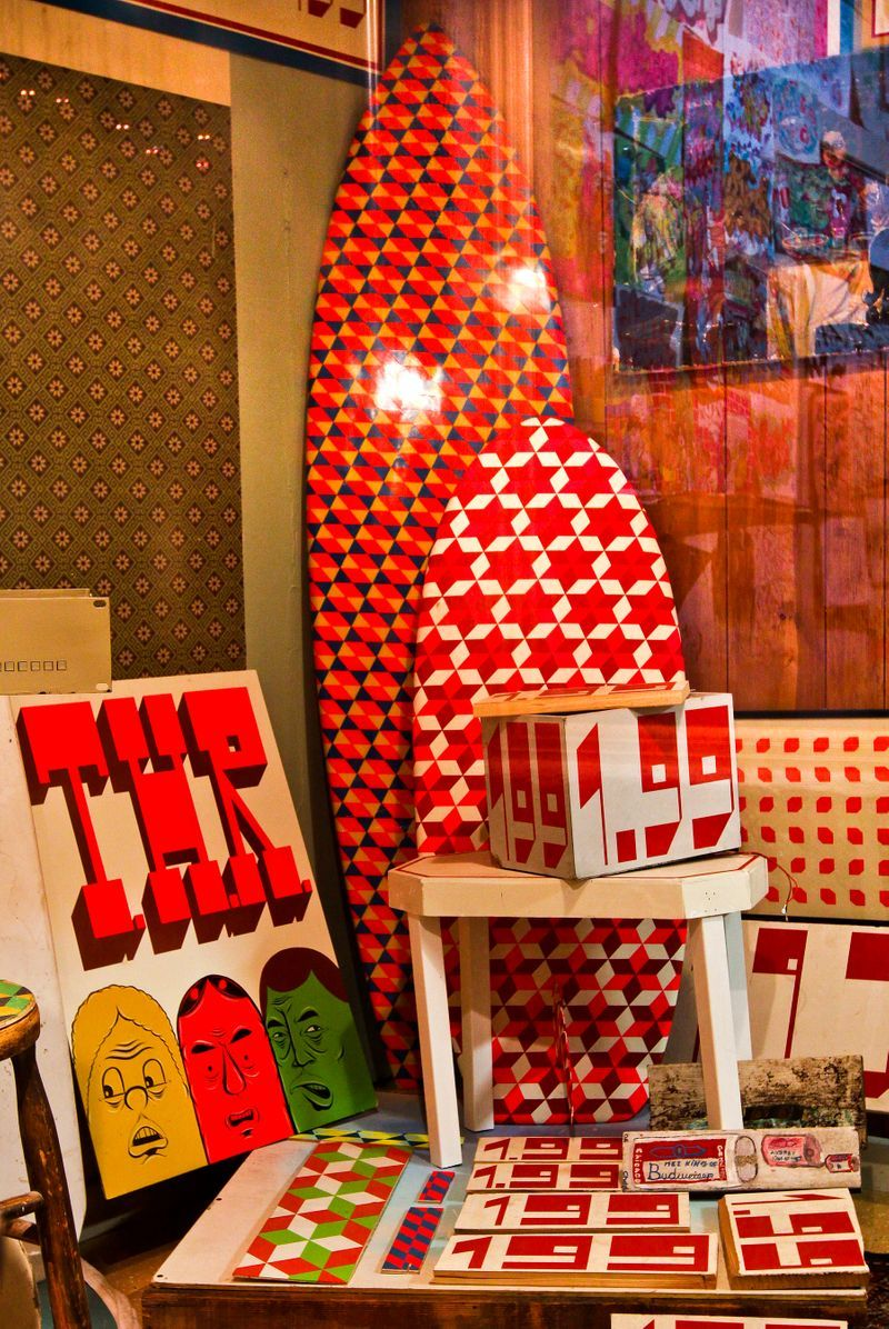 """barry_mcgee_View of the exhibition """"Art in the Streets"""" at The Museum of Contemporary Art  LOS ANGELES (USA)_19990"""
