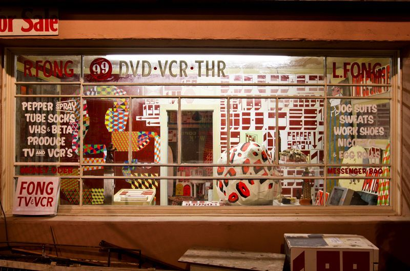 """barry_mcgee_View of the exhibition """"Art in the Streets"""" at The Museum of Contemporary Art  LOS ANGELES (USA)_19991"""