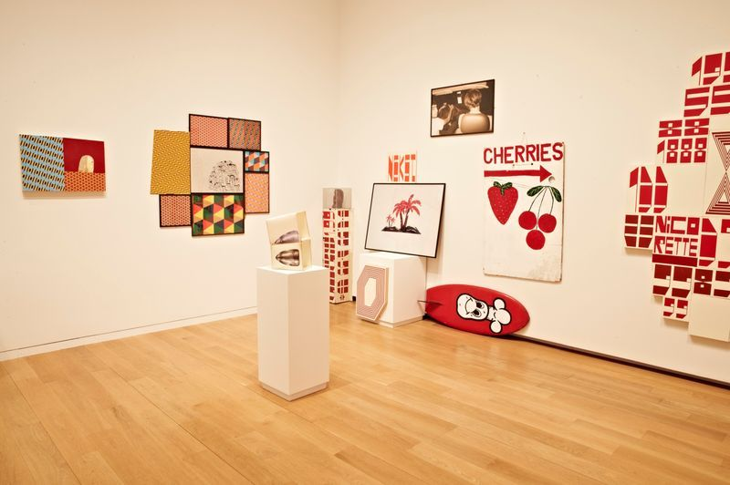 """barry_mcgee_View of the exhibition """"FOCUS: Barry McGee"""" at The Modern Art Museum of  FORT WORTH (USA)_19994"""