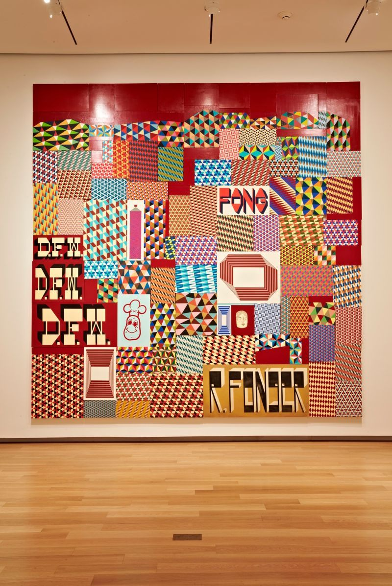 """barry_mcgee_View of the exhibition """"FOCUS: Barry McGee"""" at The Modern Art Museum of  FORT WORTH (USA)_19997"""