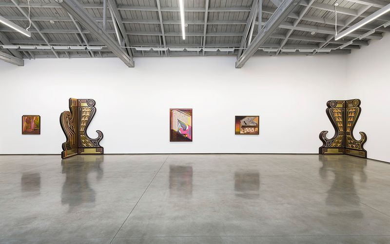 """_View of the exhibition """"Studies for 20/20"""" at DAVID KORDANSKY GALLERY Los Angeles (USA), 2019_20013"""