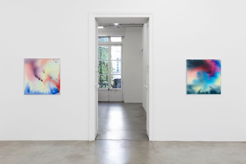 "Bernard_Frize_View of the exhibition ""Now or Never"" at Perrotin, Paris, 2019_20029"