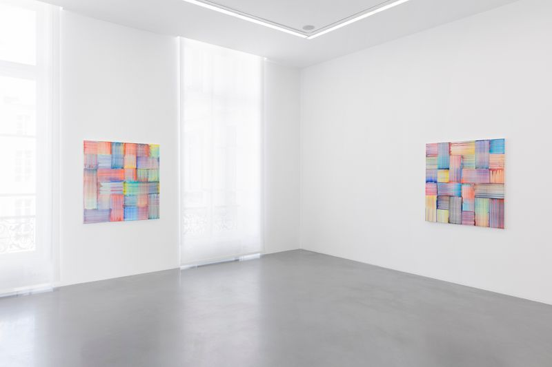"Bernard_Frize_View of the exhibition ""Now or Never"" at Perrotin, Paris, 2019_20038"