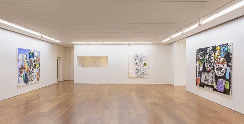 """eddie_martinez_View of the exhibition """"EMHK19"""" at HONG KONG Gallery Limited Hong Kong (Hong Kong), 2019_20047"""