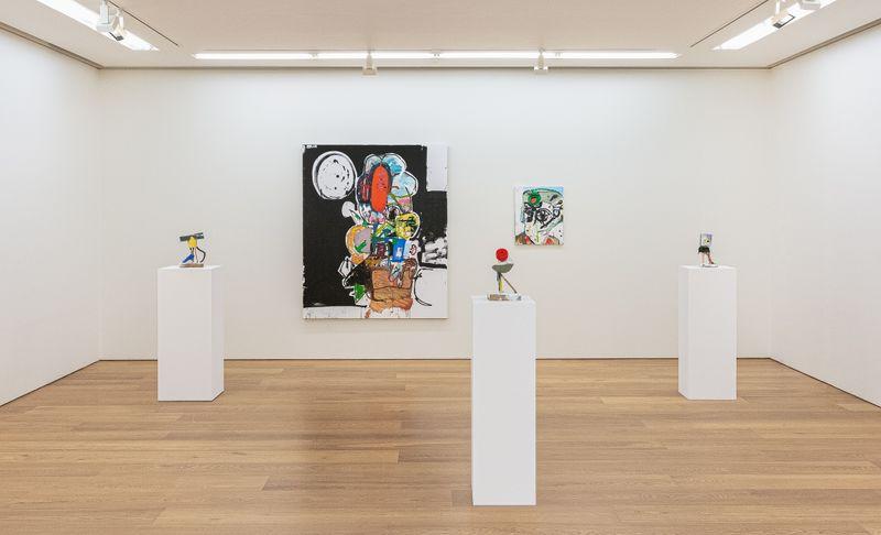 """eddie_martinez_View of the exhibition """"EMHK19"""" at HONG KONG Gallery Limited Hong Kong (Hong Kong), 2019_20048"""