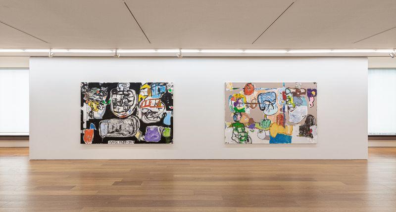 """eddie_martinez_View of the exhibition """"EMHK19"""" at HONG KONG Gallery Limited Hong Kong (Hong Kong), 2019_20051"""