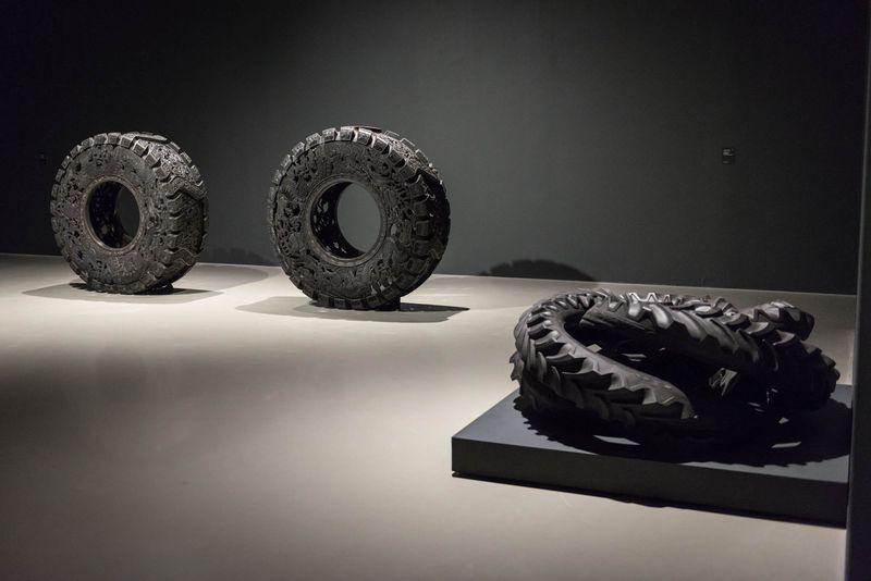 Wim_Delvoye_View of the exhibition  at Musée Royaux des Beaux-Artsde Bruxelles  BRUXELLES (Belgium)_20055