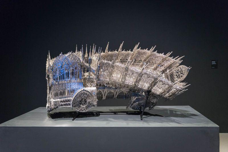 Wim_Delvoye_View of the exhibition  at Musée Royaux des Beaux-Artsde Bruxelles  BRUXELLES (Belgium)_20059
