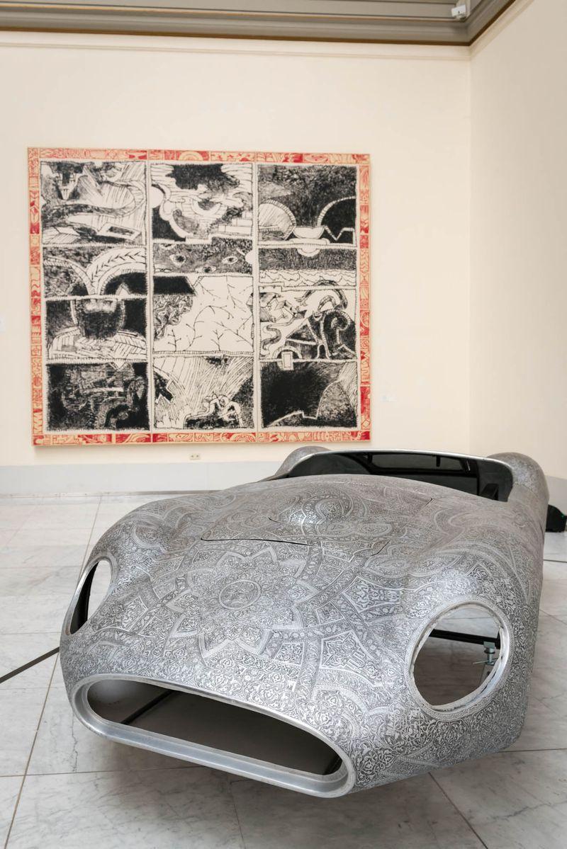 Wim_Delvoye_View of the exhibition  at Musée Royaux des Beaux-Artsde Bruxelles  BRUXELLES (Belgium)_20062