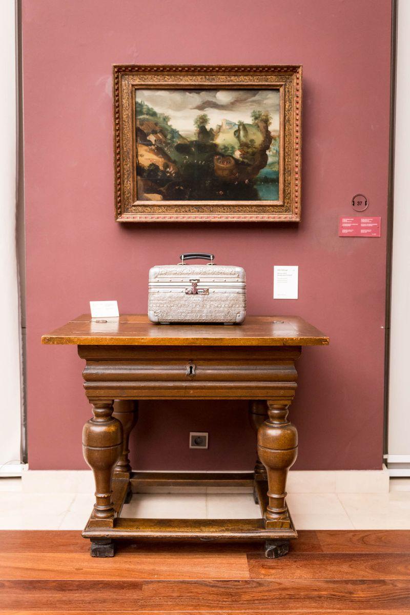 Wim_Delvoye_View of the exhibition  at Musée Royaux des Beaux-Artsde Bruxelles  BRUXELLES (Belgium)_20063