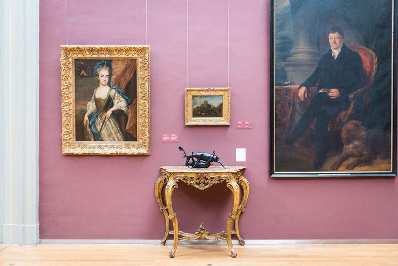 Wim_Delvoye_View of the exhibition  at Musée Royaux des Beaux-Artsde Bruxelles  BRUXELLES (Belgium)_20064