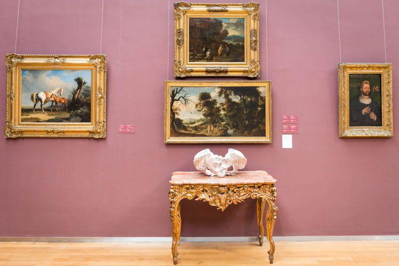 Wim_Delvoye_View of the exhibition  at Musée Royaux des Beaux-Artsde Bruxelles  BRUXELLES (Belgium)_20065
