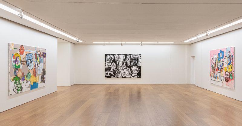 """eddie_martinez_View of the exhibition """"EMHK19"""" at HONG KONG Gallery Limited Hong Kong (Hong Kong), 2019_20071"""