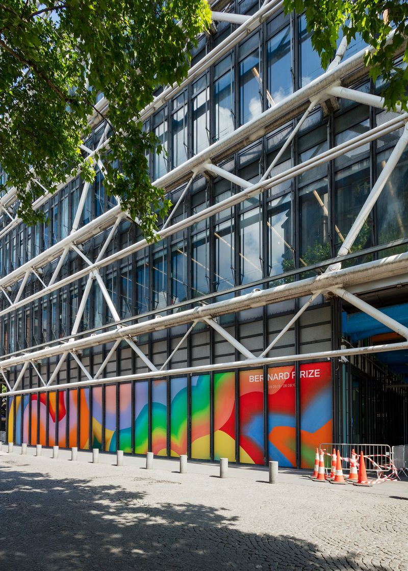 "Exterior exhibition view ""Sans Repentir"" curated by Angela Lampe at Centre Pompidou, Paris (France), 2019"
