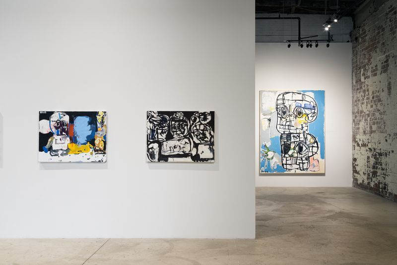 "Installation view of the exhibition ""Fast Eddie"" at Museum of Contemporary Art Detroit (USA)"