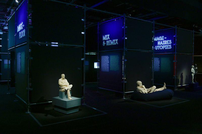 View of the exhibition, Electro, Musée de la Musique - Philharmonie de Paris, France, 2019