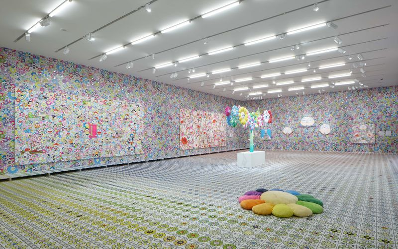 "Takashi_Murakami_View of the exhibition ""MURAKAMI vs MURAKAMI"" curated by Gunnar B. Kvaran and Tobias Berger  at Tai Kwun Centre for Heritage and Arts (Hong Kong), 2019_20611"