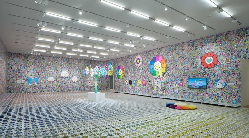 "Takashi_Murakami_View of the exhibition ""MURAKAMI vs MURAKAMI"" curated by Gunnar B. Kvaran and Tobias Berger  at Tai Kwun Centre for Heritage and Arts  (Hong Kong), 2019_20612"