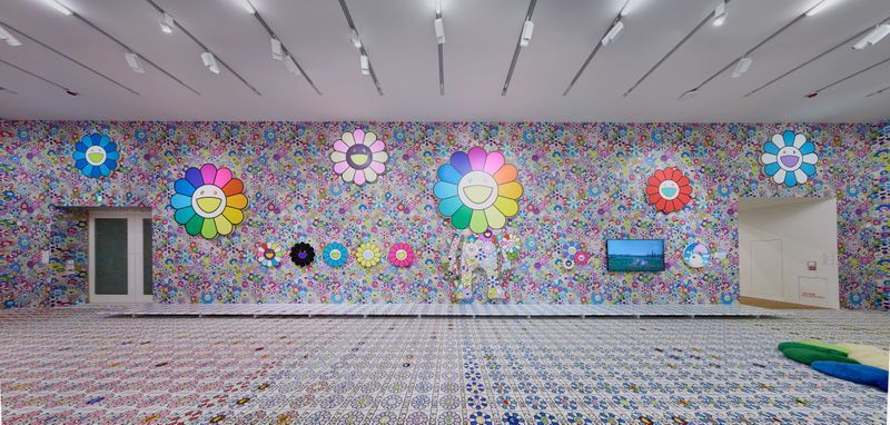 "Takashi_Murakami_View of the exhibition ""MURAKAMI vs MURAKAMI"" curated by Gunnar B. Kvaran and Tobias Berger  at Tai Kwun Centre for Heritage and Arts  (Hong Kong), 2019_20614"