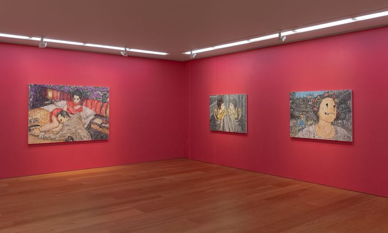 "View of the exhibition ""If I Had a Dream"" at Perrotin Hong Kong, 2019"