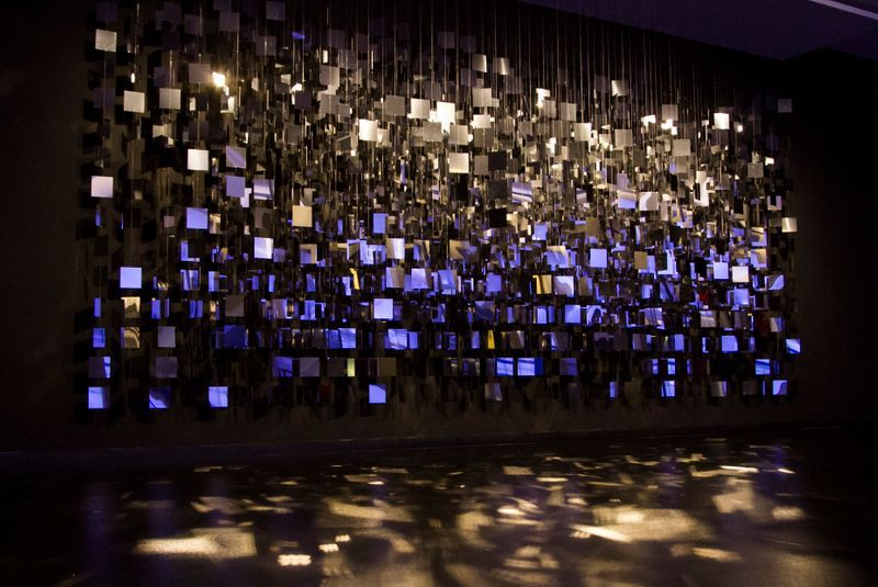 "Julio_Le_Parc_View of the exhibition ""Julio Le Parc - Un visionario"" at CCK Buenos Aires (Argentina), 2019_20711"