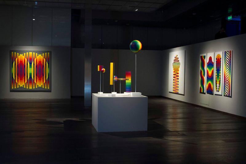 "Julio_Le_Parc_View of the exhibition ""Julio Le Parc - Un visionario"" at CCK Buenos Aires (Argentina), 2019_20714"