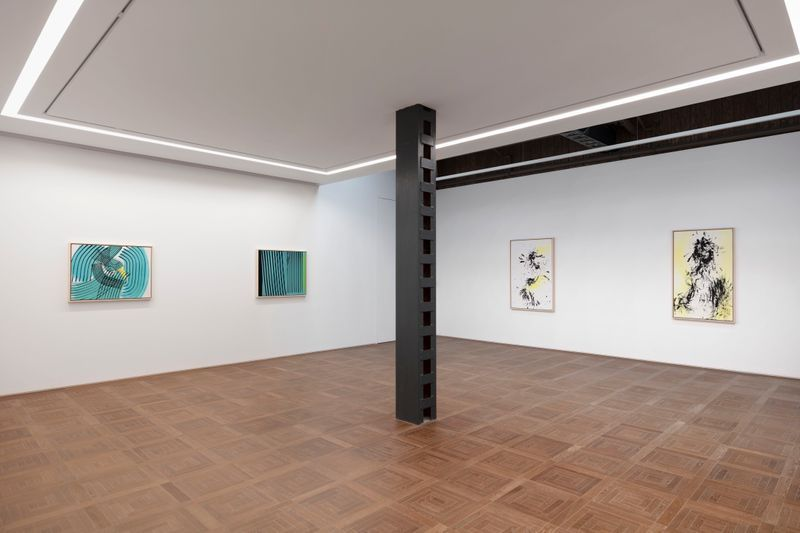 Hans_Hartung_View of the exhibition  at SHANGHAI GALLERY  SHANGHAI (China), 2019_20780