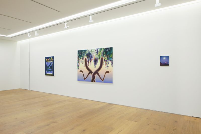 "View of the exhibition ""Avalon"" at Perrotin Tokyo, 2019"