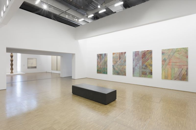 """Suite au Rouleau"", permanent exhibition, Centre Georges Pompidou, Paris, France"