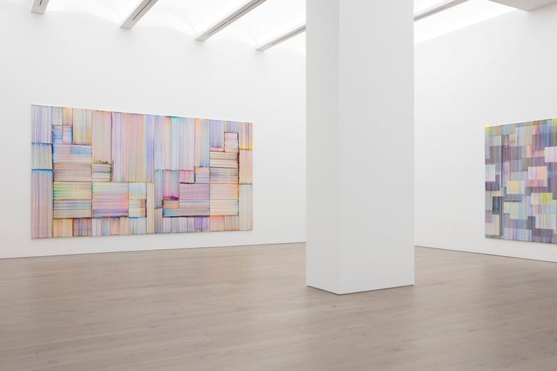 "Bernard_Frize_View of the exhibition ""Journey in Autumn"" at Perrotin, New York (USA), 2019_21046"
