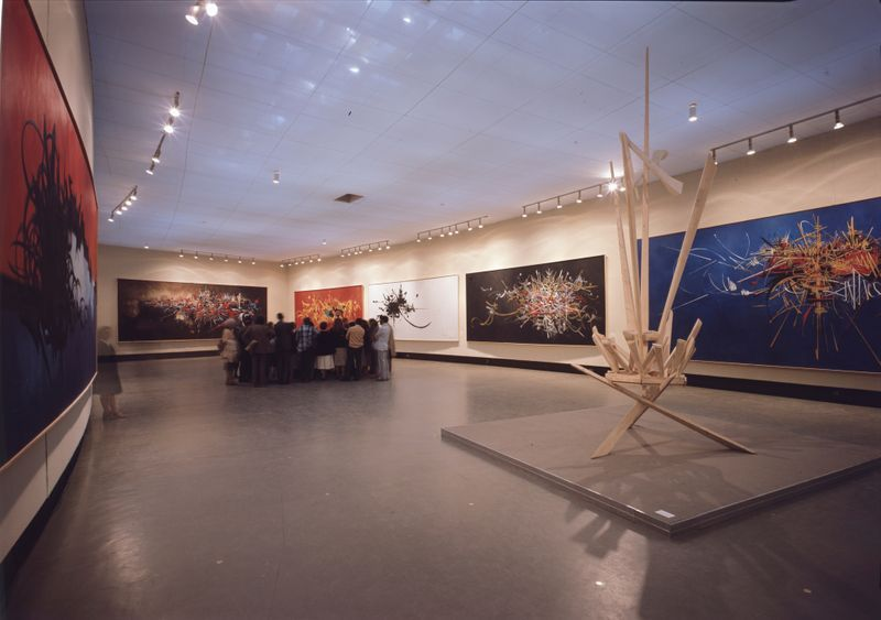 "Georges_Mathieu_View of the exhibition ""1978"" at Galeries nationales du grand palais  Paris (France)_21051_v_1568195394"