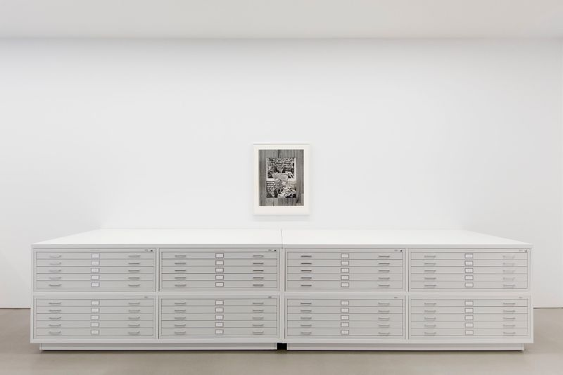 """Leslie_Hewitt_View of the exhibition """"Reading Room"""" at Perrotin, New York (USA), 2019_21078"""